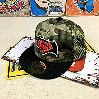 Toddler Kids Boy Girl Superman Hip Pop Baseball Cap Adjustable Snapback Hat