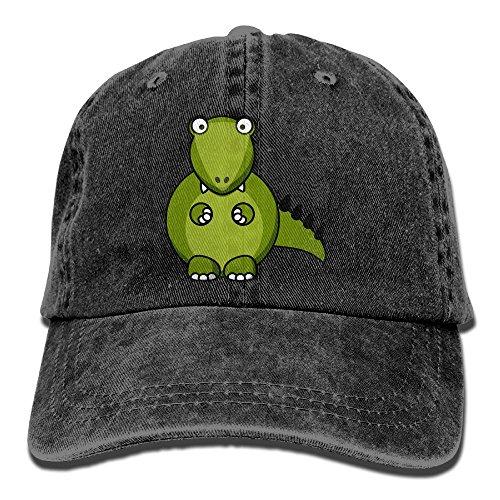 Hainingshihongyu Cartoon Dinosaurs Baseball Caps Adult Sport Cowboy Trucker Hats Adjustable Black - Pensacola In Stores