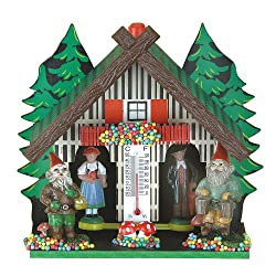 Trenkle German Black Forest weather house TU 855