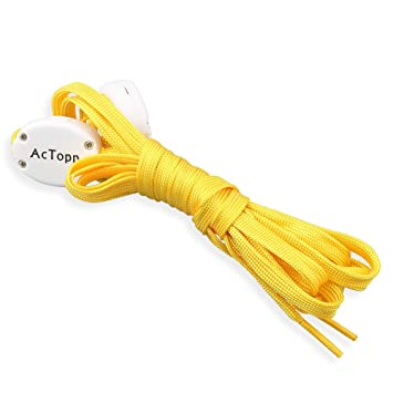 AcTopp Cordones LED Ultra luminoso de Zapatos de Nylon LED Shoe Lace Cinta de Zapatos con ...
