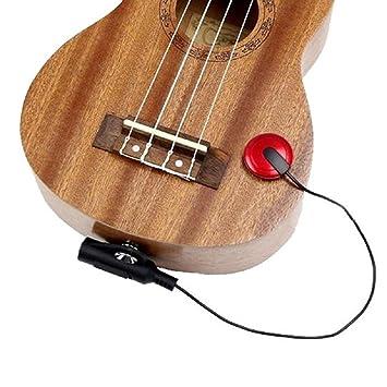Piezo Einbau Tonabnehmer Pickup für Akustik Gitarre