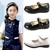 DADAWEN Girl's Strap School Uniform Dress Shoe Mary