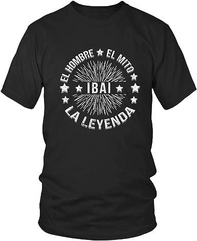 Ibai | Camiseta para Hombre XXL | El Hombre El Mito La Leyenda: Amazon.es: Ropa y accesorios