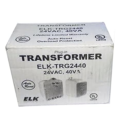 610YEgs03bL._SY463_ amazon com elk trg2440 24vac, 40 va ac transformer with ptc fuse fuse box transfer switch at aneh.co