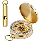 Accessories Functional Ruckus Brass Whistle Keychain