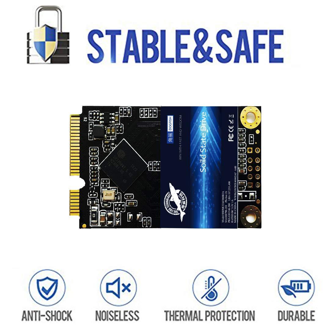MSATA SSD 250GB Dogfish Unidad de Estado sólido Interna Unidad de ...