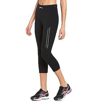 c9dd9f26dd499 Slazenger Womens High Waist 3/4 Capri Running Leggings Tights - 8