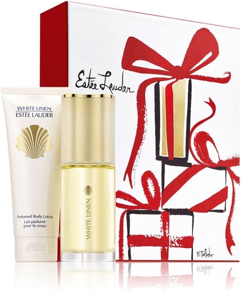 Estee Lauder - Estuche de regalo eau de parfum white linen estée lauder: Amazon.es: Belleza