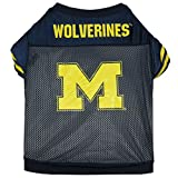 NCAA Michigan Wolverines Football Dog Jersey, X-Large  - New Design