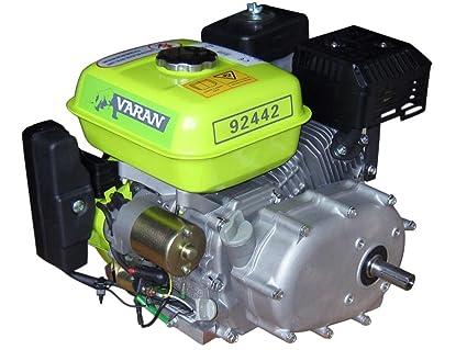 Motor 6.5hp, 4.8 kW con embrague à baño de aceite 1/2 y