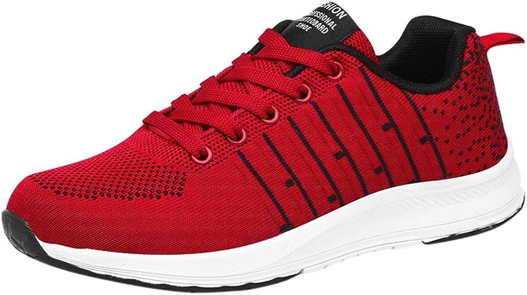 Wyxhkj Mujer Zapatillas Deportivas De Fondo Suave Para Correr Zapatos Casuales Zapatillas Transpirables Zapatillas De Deporte Calzado Calado Zapatos De Running De Deporte Gimnasia: Amazon.es: Ropa y accesorios