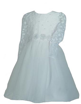 Samtlebe® - Girls Samtlebe® - Kommunionkleid Blumenmädchenkleid ...