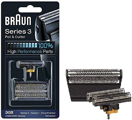 Braun - Láminas 30B - Láminas de recambio para afeitadoras Series 3/Syncro/SmartControl3/Tricontrol: Amazon.es: Salud y cuidado personal