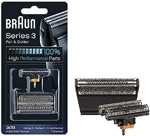 Braun - Láminas 30B - Láminas de recambio para afeitadoras Series 3/Syncro/SmartControl3/Tricontrol: Amazon.es ...