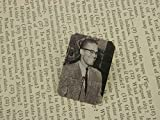 Malcolm X brooch Black History Month lapel pin