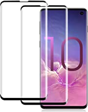 Galaxy S10 Screen Protector,[2 Pack] [No Bubbles] [9H Hardness] [Scratchproof] [Table Friendly] Tempered Glass Screen Protector Compatible with Galaxy S10