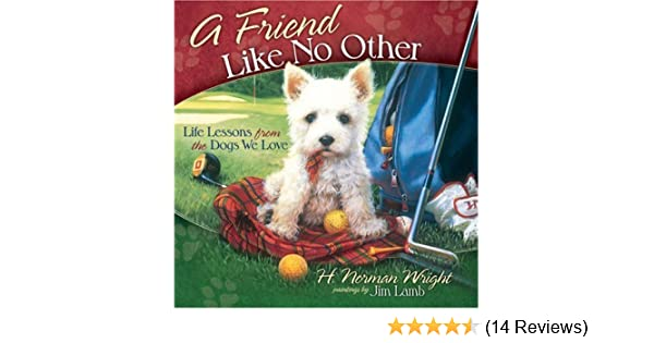 A Friend Like No Other Life Lessons From The Dogs We Love H Norman Wright Jim Lamb 9780736918473 Amazon Books