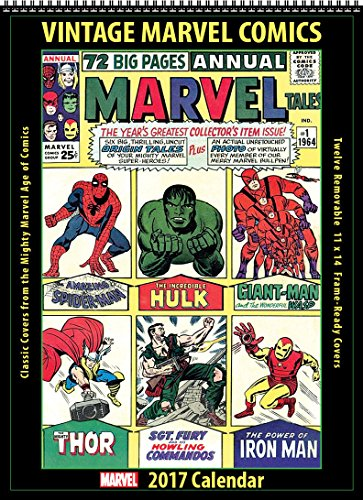 2017 Vintage Marvel Comics Calendar (Asgard Press compare prices)