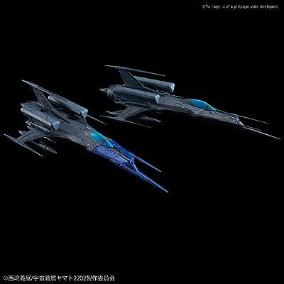 Space Battleship Yamato Type 0 Model 52 bis Autonomous Space FighterBlack Bird Set, Bandai Star Blazers Mecha Collection: Toys & Games