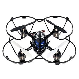 3d Flip RC Avión Drone, megadream JJRC H6C 4CH RTF 360Grados rollo Avión Drone giroscopio de 6ejes helicóptero con HD 720P 2.0MP Tiempo real aérea Cámara + Tarjeta de memoria de 2GB y luz LED para Noche Flying