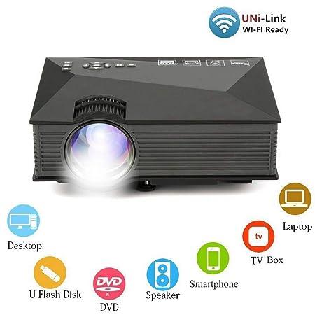 H.L Proyector, Full HD 3000 lúmenes proyector de vídeo ...