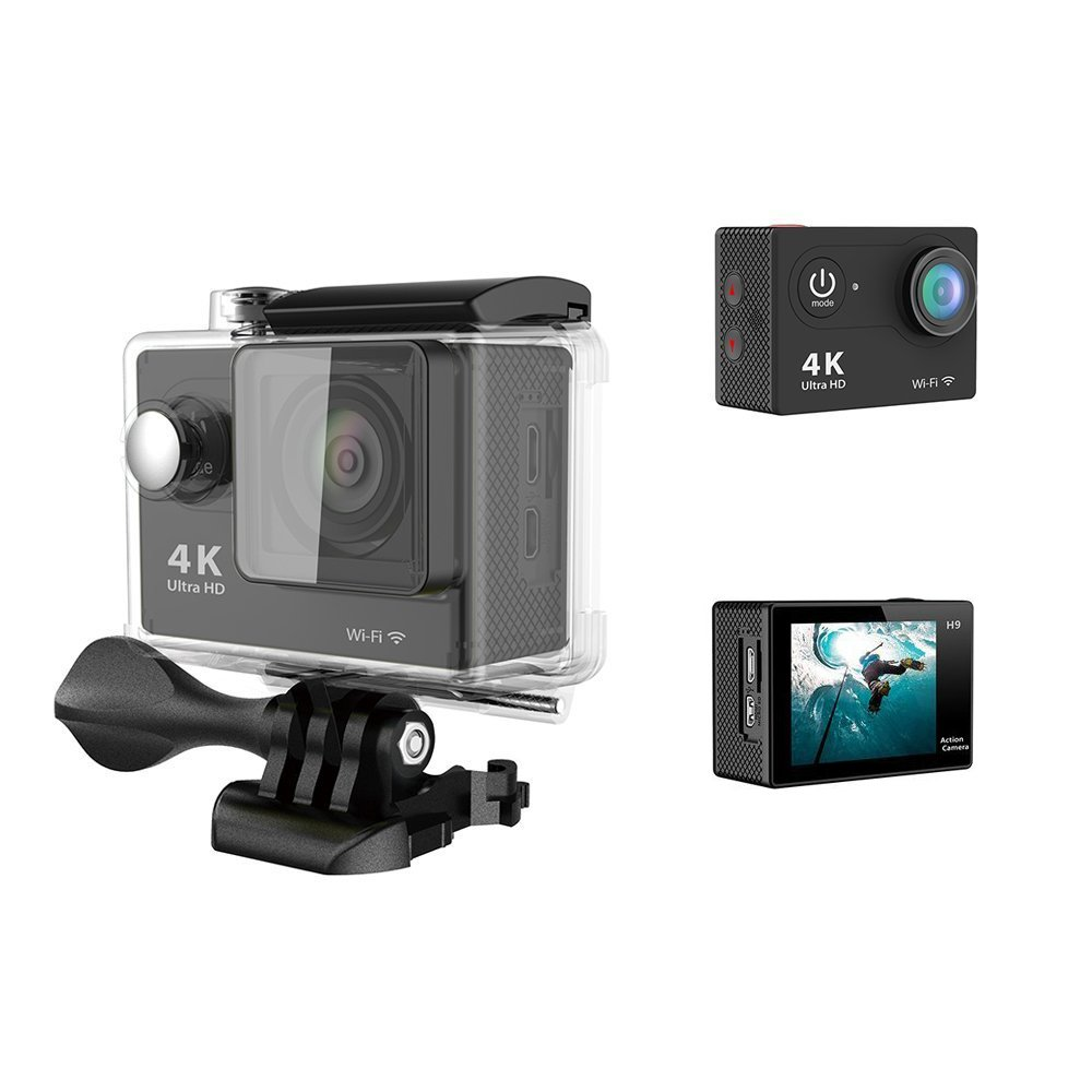 4k Ultra Hd Action Camera With Wifisports Cam By Gt Road Sportcam 16 Mp Wifi 1080p Daping Sports 20 Lcd 170 Wide Angle Lens 60fps 16mp Nt96650 Chip Sony Sensor Waterproof
