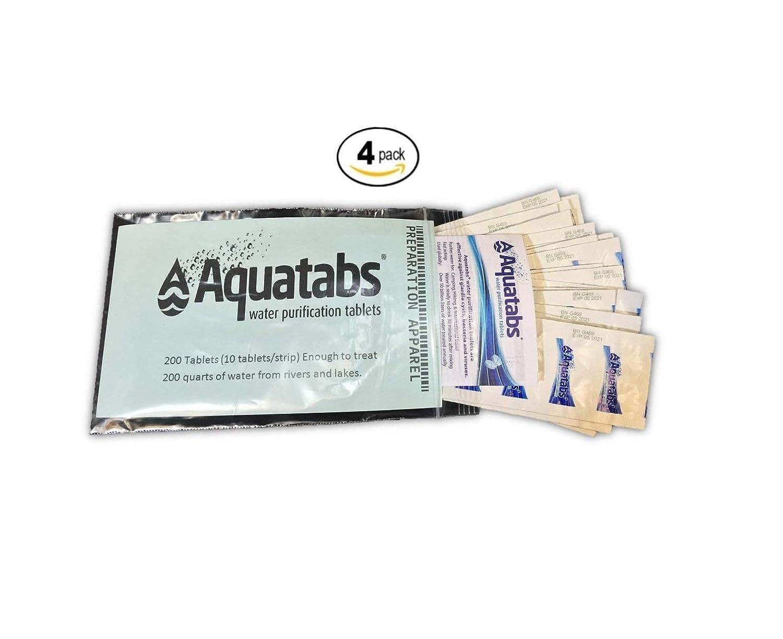 Amazon.com: Aquatabs AQT200 Water Purification Tablets 200 Pack: Industrial  & Scientific
