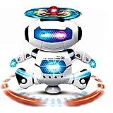 Itian Elettronico a piedi Ballando Intelligente Spazio Robot Astronauta Musica Leggera Giocattoli per Bambini