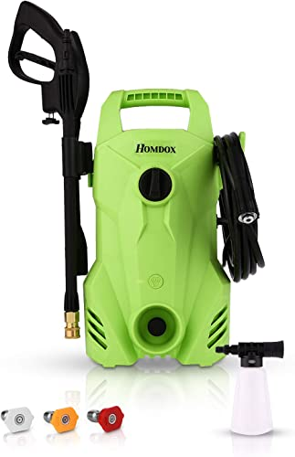 Homdox 2300 PSI 1.6 GPM Electric Power Pressure Washer Compact Professional Washer Cleaner Machine