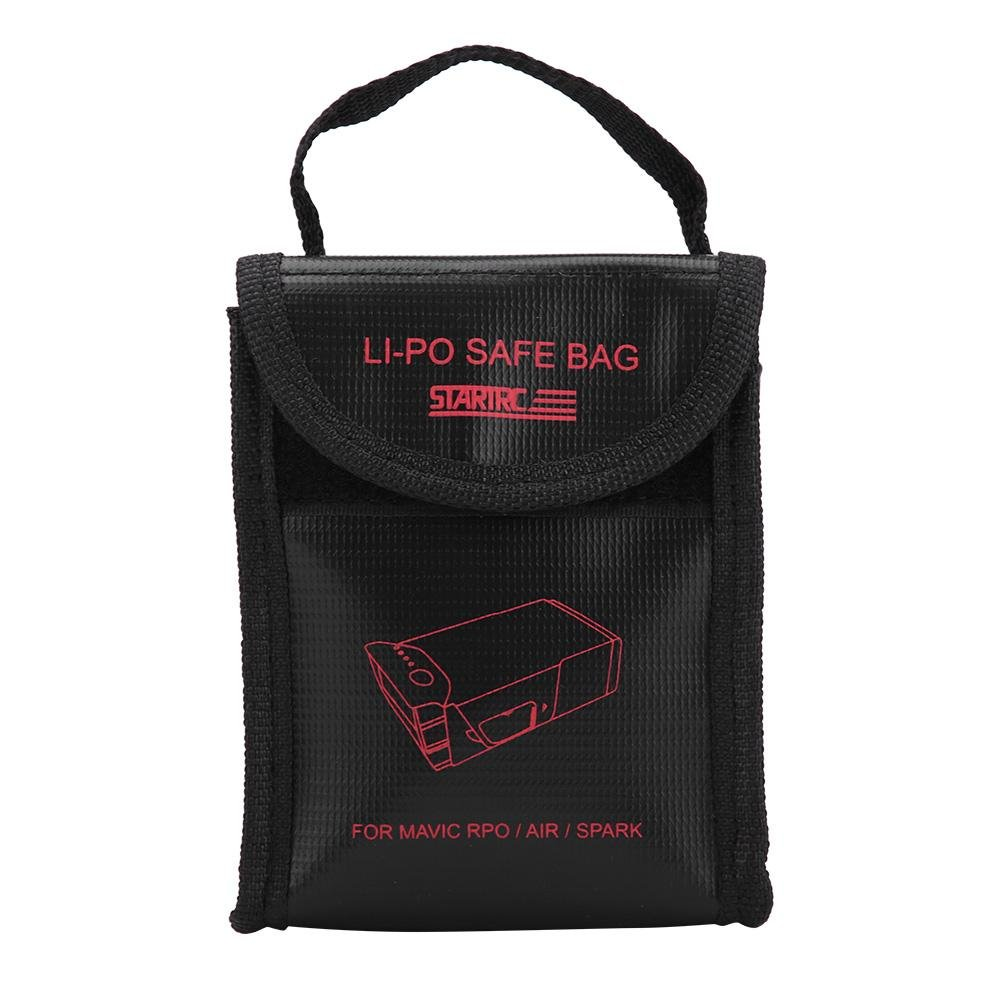 Yosoo- LiPo Battery Safe Protective Bag Fireproof Charging Guard Pouch for DJI Mavic Air/Pro/Spark