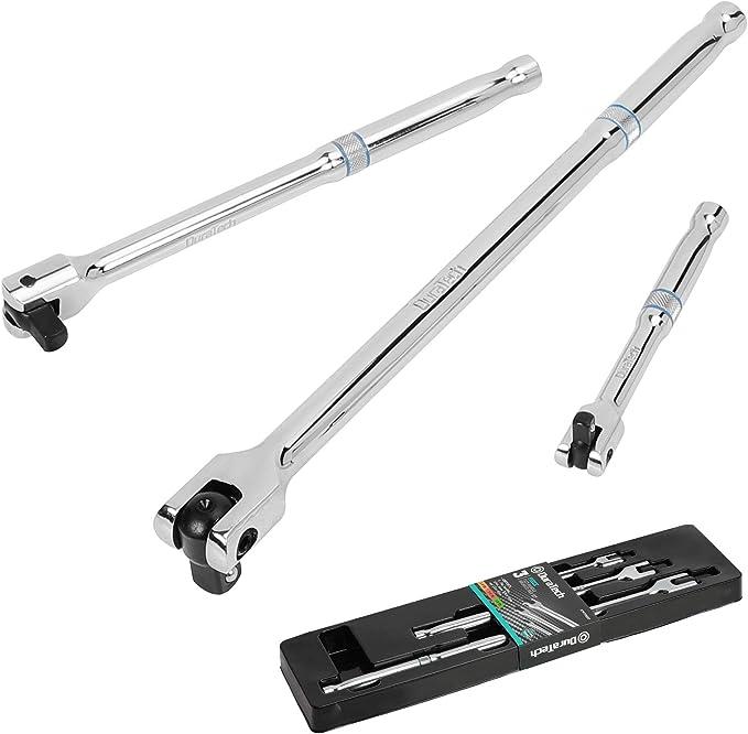 DURATECH 3-Piece Flex-handle Breaker Bar
