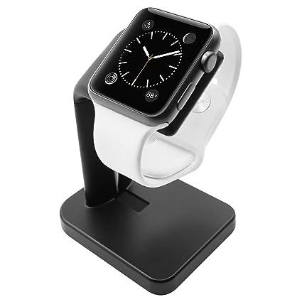Amazon.com: Soporte Macally para Apple Watch, la estación de ...
