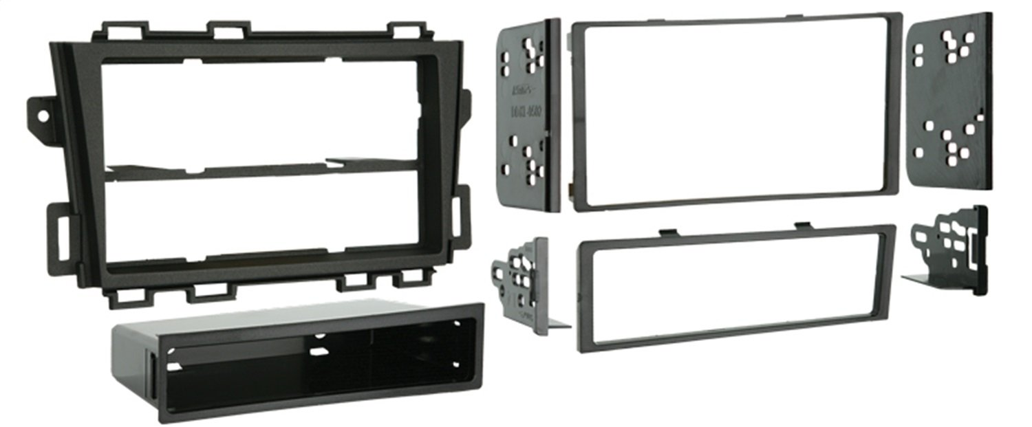 Metra 99-7426 Nissan Murano 2009-Up Installation Dash Kit for Double or Single DIN/ISO Radios