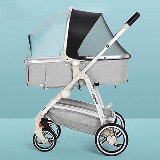 YRSTC Buggies,Cochecito de bebé, Cochecito reclinable, Plegable y ...