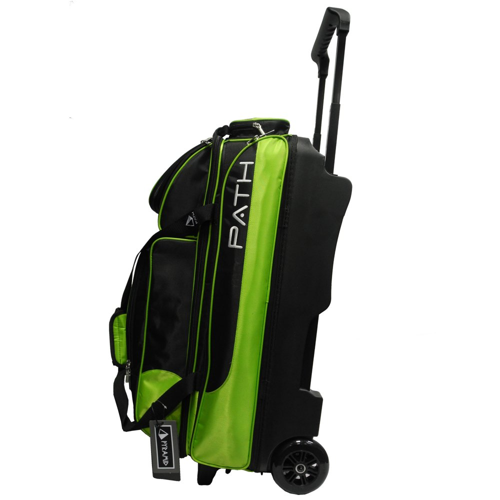 Pyramid Path Triple Deluxe Roller - Black/Lime Green