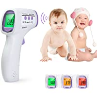 Digital Infrared Thermometer InLife Non-Contact IR Thermometer for Baby Children Forehead, Body Surface and Room Digital Thermometer Temperature Measurement