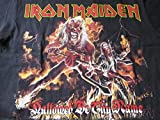 2013 Iron Maiden Concert T Shirt Zombie Killer