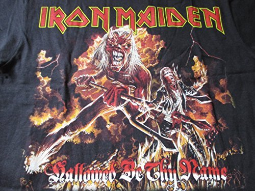 2013 Iron Maiden Concert T Shirt Zombie Killer Devil XXL