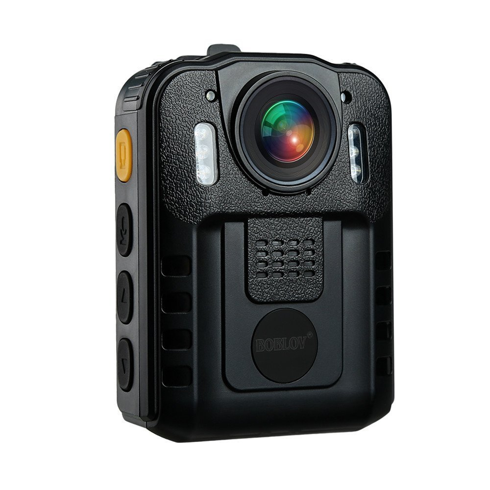 1296P Body Camera Novatek 96650 Support Memory Expansion IR Night Vision Body Worn Cam 170 Wide Diagonal Angle WDR with Rotation Back Clip