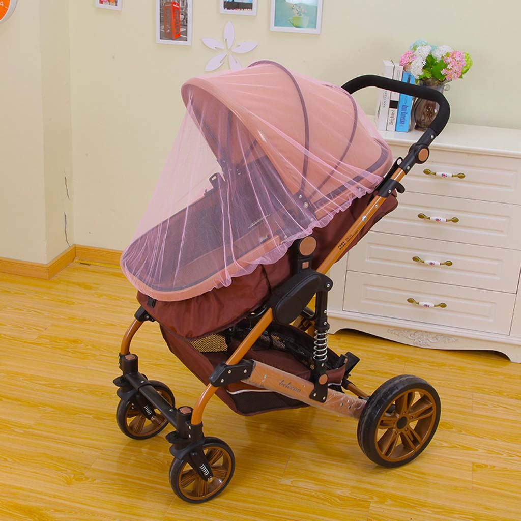 FEFEFEF Children's Stroller Mosquito net Cover Child Stroller Mosquito net Increase The encryption of The Child car Full Cover Universal,2