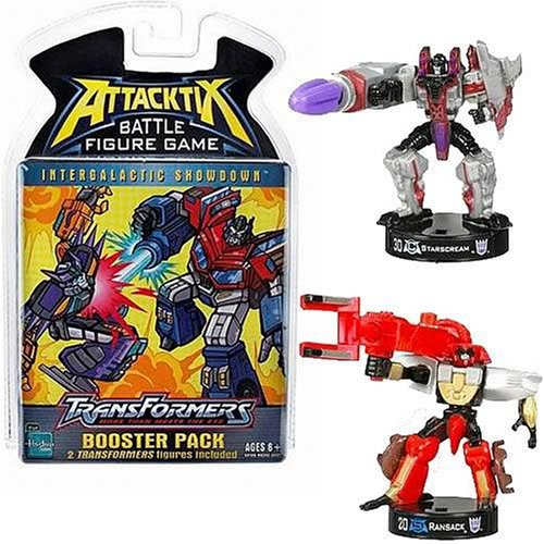 AttackTix Transformers Booster...