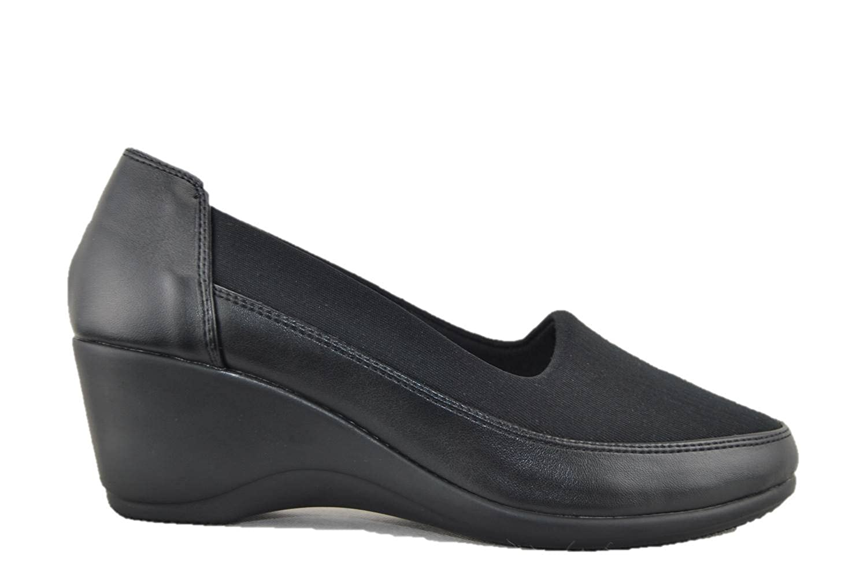 690a48e1a2 SYMON-AIR Moccasins Shoes Ballerinas Woman Black Comfort with Memory Foam  Memory: Amazon.co.uk: Shoes & Bags
