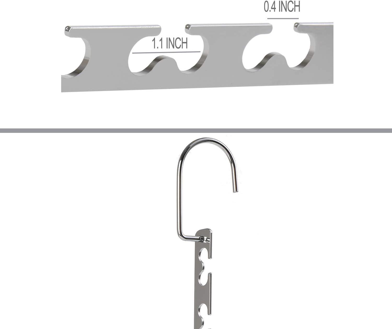12 Pack Giftol Space Saving Hangers Metal Hanger Magic Cascading Hanger Closet Clothes Organizer
