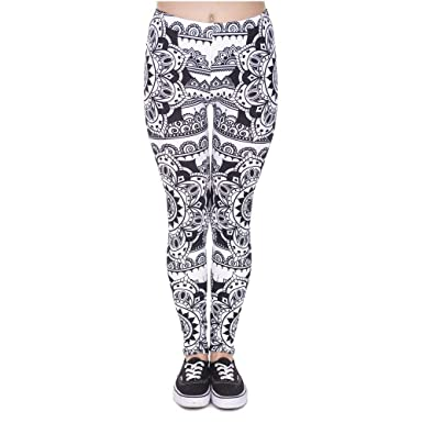 ADELINA Pantalones De Yoga Mandala Diseño Nuevo Legins Mujer ...
