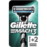 Gillette Mach3 Men's Razor Handle + 2 Blades