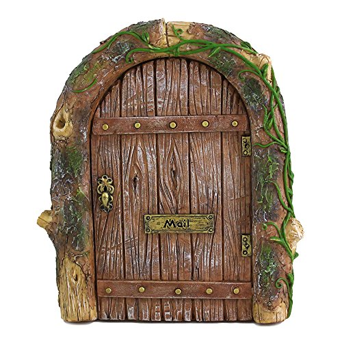 Top Collection Miniature Fairy Garden Mystical Gnome Home Door]()