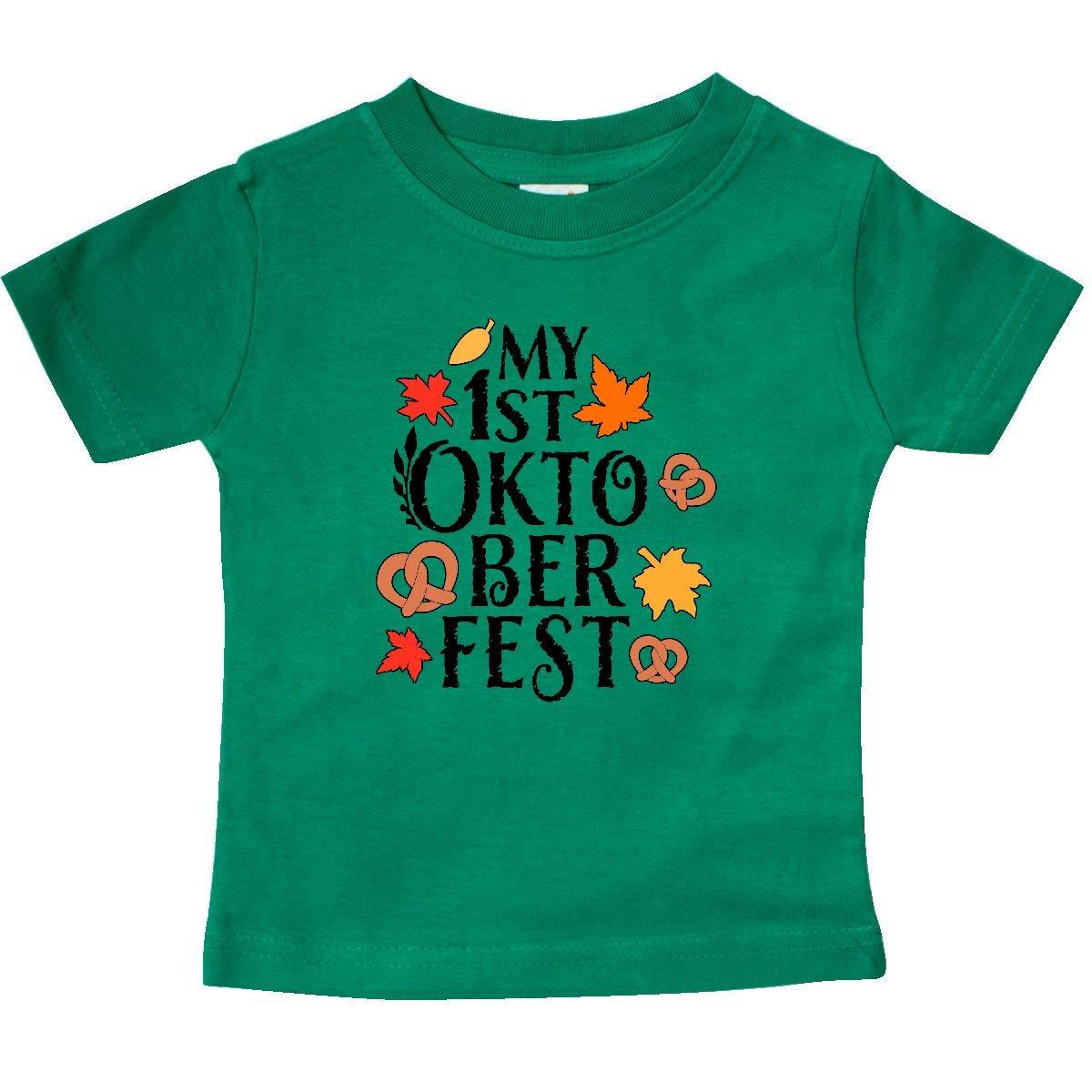 inktastic My First Oktoberfest Baby T-Shirt