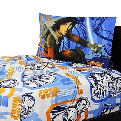 Star Wars Rebels Microfiber Full Size Bed Sheet Set