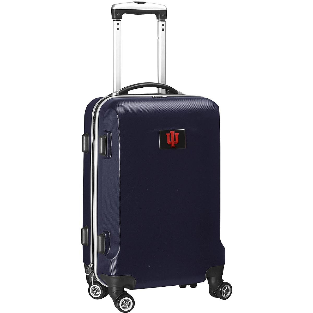 Denco NCAA Indiana Hoosiers Carry-On Hardcase Luggage Spinner, Navy