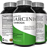 Garcinia Cambogia Weight Loss Supplement – Premium Hydroxycitric Acid – Best appetite suppressant & Carb Blocker – 60 Fast Acting Capsules – Best Male & Female Weight loss pills – Opti Naturals